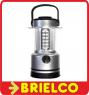 LAMPARA PARA CAMPING LINTERNA FAROL LUZ REGULABLE 30 LEDS 3XR20 BRUJULA BD808 -