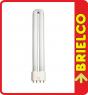 LAMPARA TUBO FLUORESCENTE 277MM TIPO PL (2G11) 18W LUZ DIA 6400K 1100LM BD4159 -