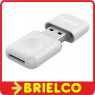 LECTOR DE TARJETAS MULTIFUNCION USB 3.0 MICRO-DS T-FLASH BLANCO 42X22X8MM BD9332 -