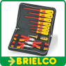 MALETIN ESTUCHE KIT 11 HERRAMIENTAS AISLADAS BASICO PARA ELECTRONICOS BD10914 -