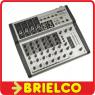 MESA DE MEZCLAS PROFESIONAL 8 CANALES REVERBERACION ECHO DIGITAL BRIELCO BD437 -