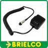MICROFONO DE MANO ELECTRET EMISORA CB FE200 FARUN CONECTOR 6 PIN HEMBRA BD6933 -