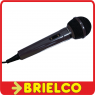MICROFONO DINAMICO DE MANO PARA KARAOKE 600 OHMIOS CABLE 5M JACK 635MM BD6434 -