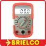 MULTIMETRO DIGITAL COMPACTO 200MV-600VDC 200V-600VAC 200UA-10A 200-2MOHM BD6574 -