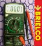MULTIMETRO DIGITAL VOLTAJE INTENSIDAD RESISTENCIAS TRANSISTORES DIODOS BD4024 -