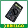 MULTIMETRO POLIMETRO TESTER DIGITAL BASICO ROBUSTO INICIACION CON BUZZER BD6617 -