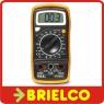 MULTIMETRO POLIMETRO TESTER MEDIDOR DIGITAL 3 1/2 DIGITOS PROTECTOR ZUECO BD4633 -