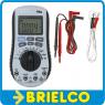 MULTIMETRO TESTER DIGITAL AUTO RANGO DETECTOR DE TENSION CA SIN CONTACTO BD3625 -