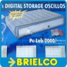 OSCILOSCOPIO PARA PC 1 CANAL 32MS/S PCS100 PUERTO PARALELO SOFT PCLAB2000 BD3655 -