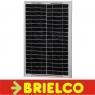 PANEL ENERGIA SOLAR FOTOVOLTAICA PLACA CARGA BATERIA 12V 20W 550X350x28MM BD6752 -