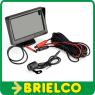 """PANTALLA MONITOR TFT LCD 4.3"""" + CAMARA VISION TRASERA APARCA COCHE AUTO BD11715 -"""