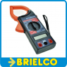 PINZA AMPERIMETRICA DIGITAL MULTIMETRO TESTER ECONOMICA FUNDA CREMALLERA BD9251 -