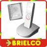 PORTERO ELECTRICO INALAMBRICO TELEFONILLO SIN HILOS RECARGABLE CON BASE BD9504 -