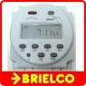 PROGRAMADOR TEMPORIZADOR DIGITAL DIARIO SEMANAL 4FASTON 12VDC RELE DE 4VA BD9259 -