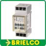 PROGRAMADOR TEMPORIZADOR SEMANAL DIGITAL TIPO RAIL CARRIL DIN 8 PROGRAMAS BD4044 -