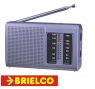 RADIO AM-FM ANALOGICA ALTAVOZ INCORPORADO 115X70X30MM 2XAA PLATA K-CPR108 BD5000 -