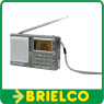RADIO AM-FM-SW1-SW2 PORTATIL RELOJ ALARMA PILAS 3XAA O ALIMENTADOR 4.5V BD6391 -