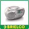 RADIO CASETE CD PORTATIL PHILIPS ENTRADA AUXILIAR ESTEREO 220V Y 9V 6XR14 BD5350 -
