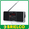 RADIO DIGITAL ESTEREO PORTATIL ALTAVOCES FM MP3 USB TF ALI 5V USB BATERIA BD9378 -