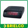 RADIO FM RELOJ DESPERTADOR DIGITAL PLL 220VAC DENVER ALARMA DUAL BD5397 -