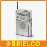 RADIO PORTATIL AM-FM ANALOGICA DE BOLSILLO 103X60X17MM ALIMENTACION 2XAAA BD5307 -