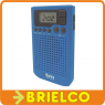 RADIO PORTATIL PLL AM-FM 40 PRESINTONIAS RELOJ ALARMA DISPLAY LCD CON LUZ BD5315 -