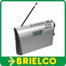 RADIO RELOJ PORTATIL FM DIGITAL SONY ICF-M600 GRAN POTENCIA 220VAC Y 4XR14 BD5402 -