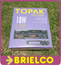 RADIOCASSETTE COCHE AUTORRADIO NUEVO TOPAK T-291 18W AUTO REVERSE DISPLAY LED BD11021 -