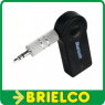 RECEPTOR ADAPTADOR BLUETOOTH SALIDA AUDIO POR JACK 3,5MM RECARGABLE BD3148 -