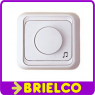 REGULADOR DE VOLUMEN AUDIO PARA SUPERFICIE PARED BLANCO 10W HILO MUSICAL BD3858 -