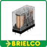 RELE ELECTROMAGNETICO MINIATURA OMRON G2R-2 6VDC 5A DPDT 8 PINES C.I. BD11418 -