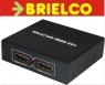 REPARTIDOR DISTRIBUIDOR HDMI SPLITTER MULTIPLICADOR 1 ENTRADA 2 SALIDAS BD4643 -