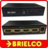 REPARTIDOR DISTRIBUIDOR SPLITTER ACTIVO AMPLIFIC HDMI 1 ENTRADA 4 SALIDAS BD4385 -