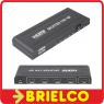 REPARTIDOR SPLITTER HDMI UHD ALTA DEFINICION ACTIVO 1 ENTRADA 4 SALIDAS BD4654 -