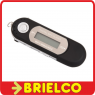 REPRODUCTOR MULTIMEDIA MP3 WAV GRABACION VOZ RADIO FM AURICULARES NEGRO BD9316 -