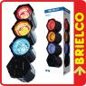 SICODELICO MULTICOLOR 3 MODULOS 63 LEDS CONFIGURABLE SECUENCIAL MICROFONO BD6407 -