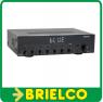 AMPLIFICADOR HI-FI ESTEREO 60+60W RMS BLUETOOTH USB FM MANDO DISTANCIA BD3925 -