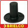 SOPORTE METALICO NEGRO PARA CAJA ACUSTICA BAFLE DIAMETRO 42MM ALTURA 83MM BD3569 -