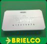 SWITCH DE 8 PUERTOS 10/100Mbps 5VDC 0,6A INDICADORES LED BD3692 -