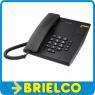 TELEFONO ALCATEL SOBREMESA PARED NEGRO 2 TONOS MARCACION MIXTA SEÑAL LUZ BD5321 -