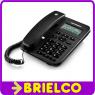 TELEFONO CON CABLE MOTOROLA NEGRO MANOS LIBRES IDENTIFICADOR LLAMADAS BD5318 -