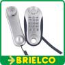 TELEFONO DE SOBREMESA Y PARED TELECOM 3212 PLATA-NEGRO CONTROL VOLUMEN BD5415 -