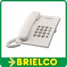 TELEFONO FIJO SOBREMESA CON FUNCIONES BASICAS PANASONIC KX-TS500EX BLANCO BD5223 -
