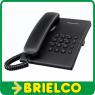 TELEFONO FIJO SOBREMESA CON FUNCIONES BASICAS PANASONIC KX-TS500EX NEGRO BD5222 -