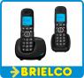TELEFONO INALAMBRICO DUAL FIJO ALCATEL XL535DUO NEGRO TECLAS GRANDES RECARGABLE MANOS LIBRES BD5404 -