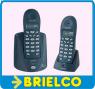 TELEFONO INALAMBRICO DUAL TELECOM 7115 NEGRO MANOS LIBRES RECARGABLES DIGITAL BD5414 -