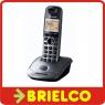 TELEFONO INALAMBRICO PANASONIC KX-TG2511 GRIS RECARGABLE TELEFONIA FIJA BD5219 -