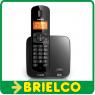 TELEFONO INALAMBRICO PHILIPS CD1701B RECARGABLE TELEFONIA FIJA NEGRO BD5406 -