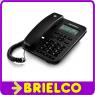 TELEFONO SOBREMESA CON DISPLAY IDENTIFICADOR LLAMADA EN ESPERA MEMORIAS BD4667 -