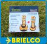 TELEFONOS INALAMBRICOS DUO TELECOM 7097 AMARILLO RECARGABLES DIGITAL BD5413 -